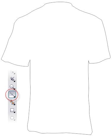 2. cara membuat kaos di corel draw