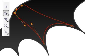 28. membuat lekukan pada sayap kalelawar
