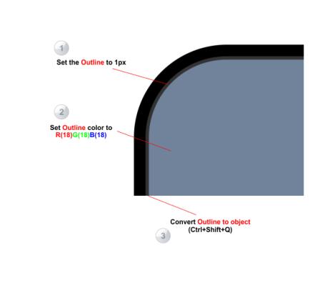 7. cara membuat alat elektronik dengan coreldraw