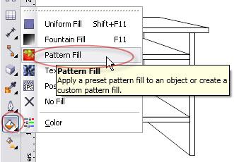 7. cara menggunakan pattern fill di coreldraw