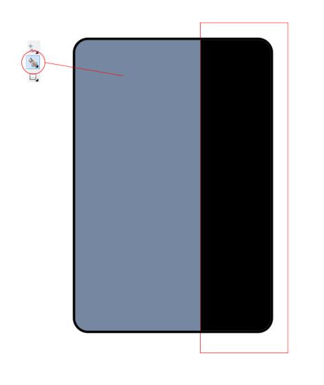 8. cara membuat pantulan cahaya pada handphone di corel draw