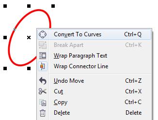 8. convert ellipse to curves