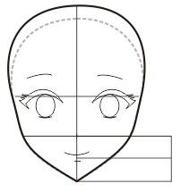 9. membuat mulu dan hidung pada anime dan manga dengan coreldraw
