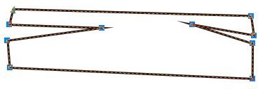 2. cara seleksi semua node pada objek di coreldraw