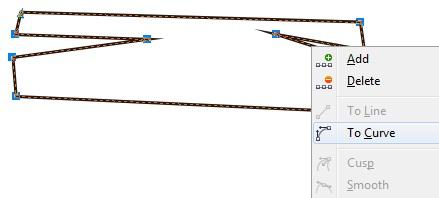 3. cara membuat garis menjadi lentur di coreldraw
