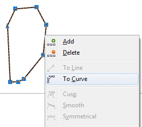 3. curving object coreldraw