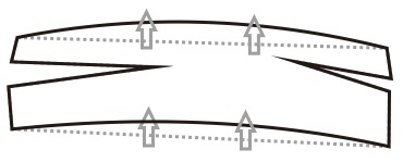 4. melenturkan objek di corel draw