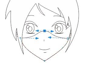 4. pengaturan lakukan garis di coreldraw