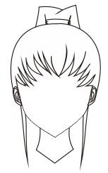 6. ikat rambut kuncir satu