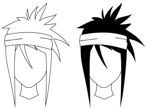 Gambar Anime Sketsa  Oleh Nasihin Gambar Gampang di Rebanas