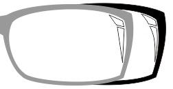 9. cara membuat pantulan cahaya di kacamata