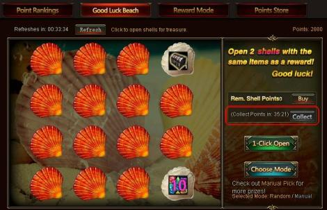 6. how to collect more points in beach treasure - loa