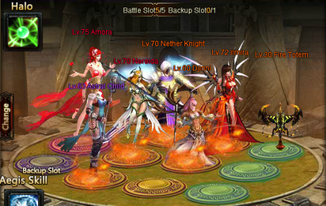 damage dealer - league of angels