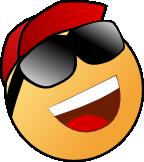 feeling cool emoticon loa